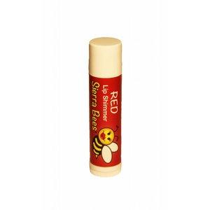Sierra Bees Lippenbalsem shimmer - Rood