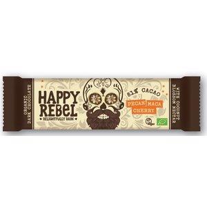 Happy Rebel Pecan Maca Cherry 81% cacoa - 38g