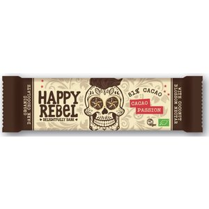 Happy Rebel Cacao Passion 81% cacoa - 38g