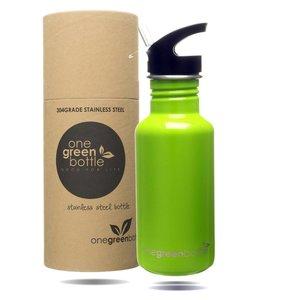 One Green Bottle Apple Green met Quench cap - 500ml