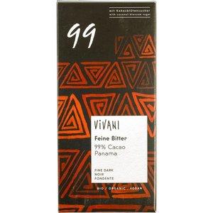 Vivani Vivani Chocolade 99% 80g