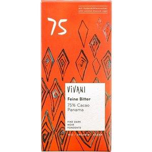 Vivani Chocoladereep Vivani 75% 80g