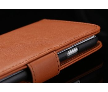 Luxe leren flip case iPhone 6(s) & 6(s) Plus