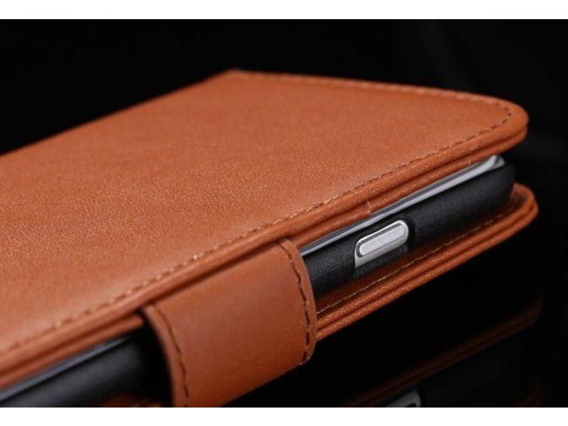 Luxe leren flip case iPhone 6(s) & 6(s) Plus