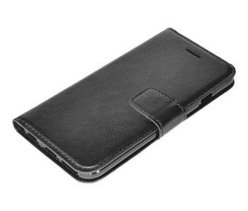 Zwart luxe flip case Samsung Galaxy S7