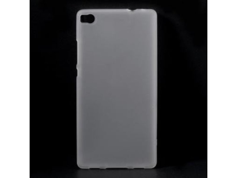 TPU Case Transparant voor Huawei P8