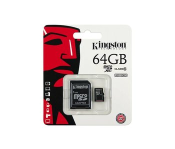 Kingston Micro SD kaart 64 GB