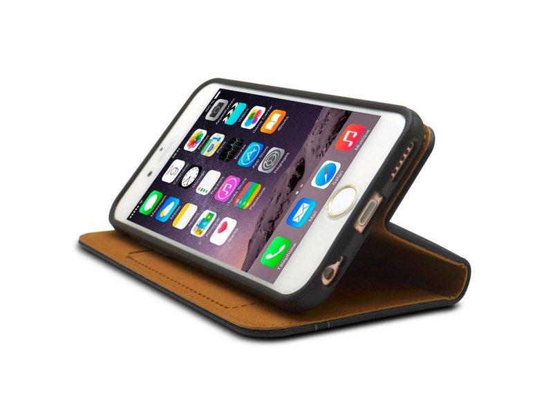 iHosen iHosen Zwart Leren Hoesje iPhone 6(s)