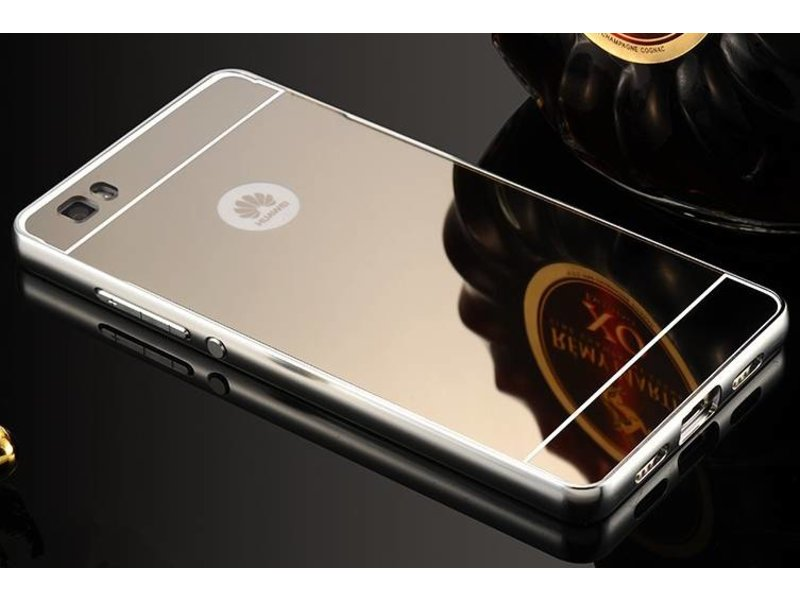 Luxe mirror aluminium hard case Huawei P8 Lite