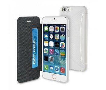 Muvit Easy Folio Card Case Apple iPhone 6(s) Plus - Wit