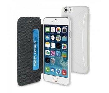 Muvit Easy Folio Card Case Apple iPhone 6(s) Plus - Wit