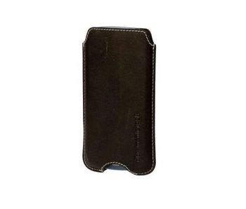 DBramante1928 Leather Pocket Case Hunter Dark voor Samsung Galaxy S3/S4