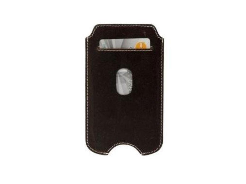 DBramante1928 DBramante1928 Leather Pocket Case Hunter Dark voor Samsung Galaxy S3/S4