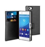 Muvit Muvit Wallet Case Zwart voor Sony Xperia Z5 Compact
