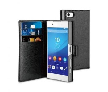 Muvit Wallet Case Zwart voor Sony Xperia Z5 Compact