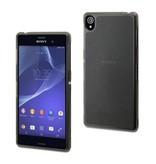 Muvit Muvit MiniGel Case Zwart voor Sony Xperia Z3