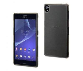 Muvit MiniGel Case Zwart voor Sony Xperia Z3