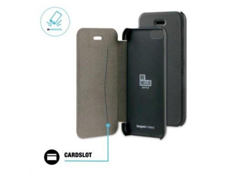 BeHello BeHello Book Case Zwart voor Apple iPhone 6/6S