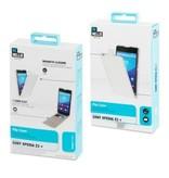BeHello BeHello Wallet Flip Case Wit voor Sony Xperia Z3 Plus