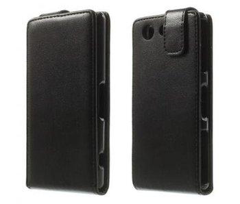 Flip Cover Zwart voor Sony Xperia Z3 Compact