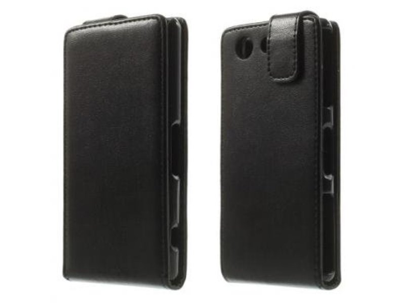 Mobiware Flip Cover Zwart voor Sony Xperia Z3 Compact