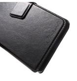 Wallet Book Case Zwart voor Huawei P9