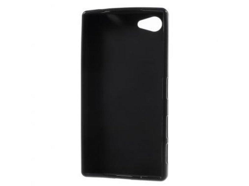 TPU Case Zwart voor Sony Xperia Z5 Compact