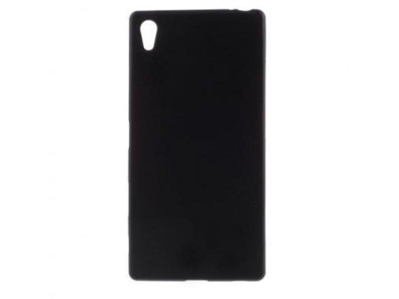 TPU Case Zwart voor Sony Xperia Z5 Premium