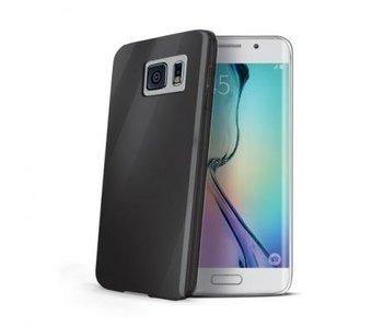 Celly Gelskin Zwart voor Samsung Galaxy S6 Edge