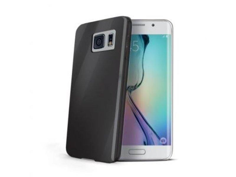 Celly Celly Gelskin Zwart voor Samsung Galaxy S6 Edge