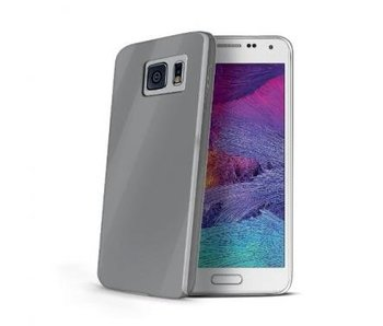 Celly Ultrathin Gel Case Grijs voor Samsung Galaxy S6