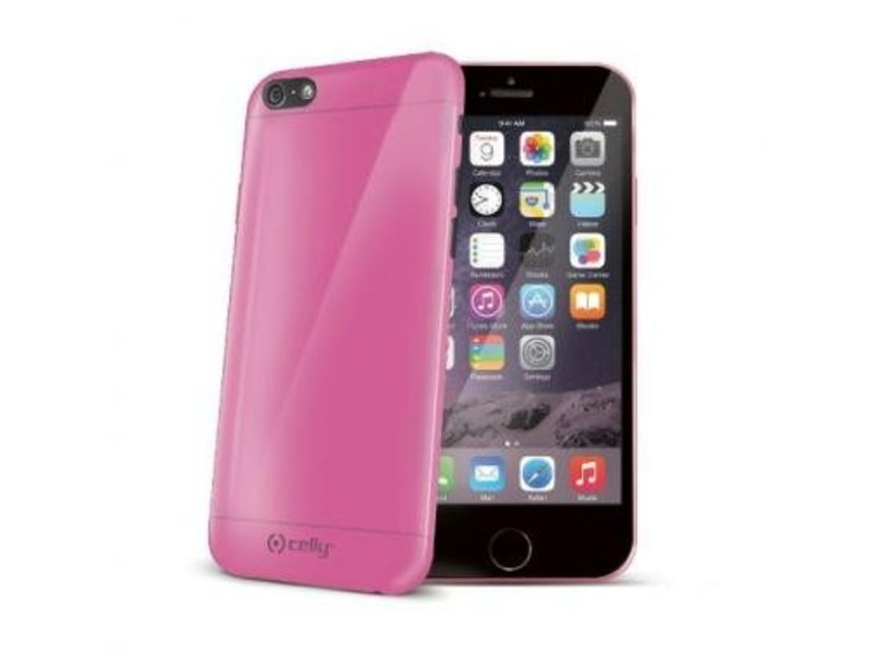 Celly Celly Gelskin Roze voor Apple iPhone 6/6S