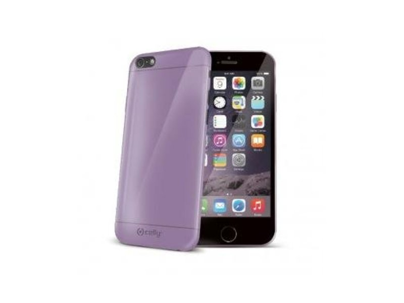 Celly Celly Gelskin Paars voor Apple iPhone 6/6S