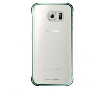 Samsung Clear Cover Groen voor Samsung Galaxy S6 Edge