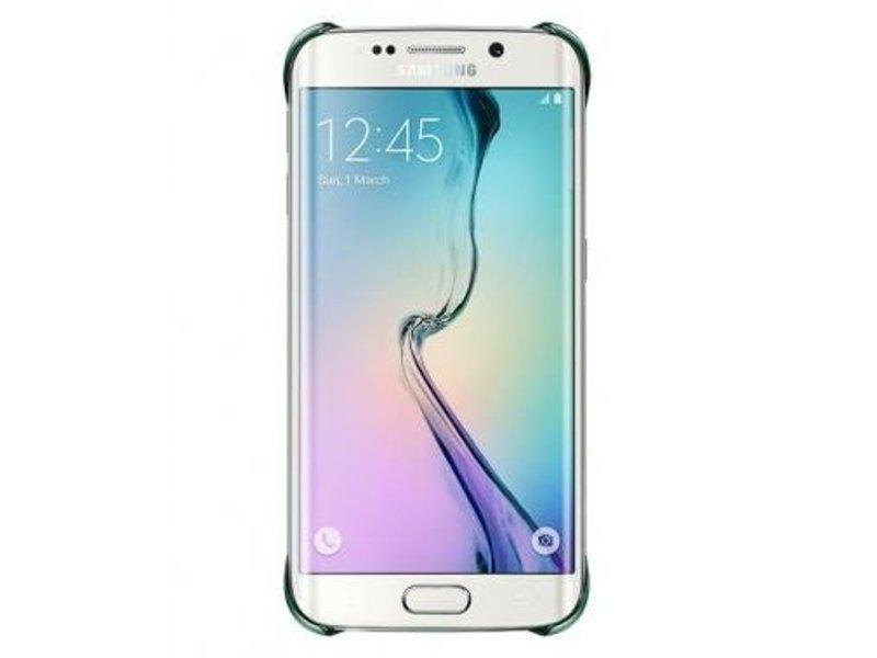 Samsung Samsung Clear Cover Groen voor Samsung Galaxy S6 Edge