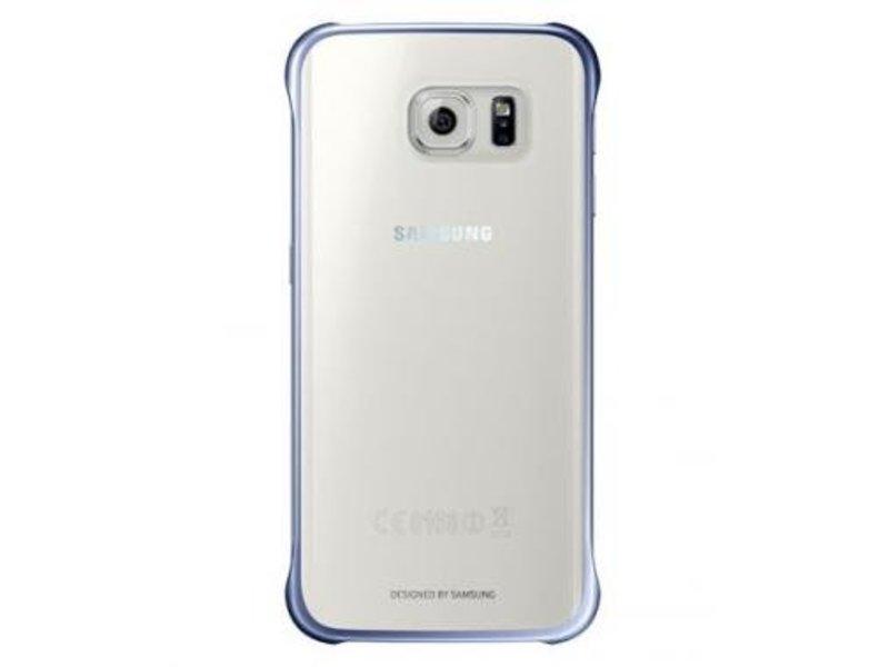 Samsung Samsung Clear Cover Blauw voor Samsung Galaxy S6 Edge+