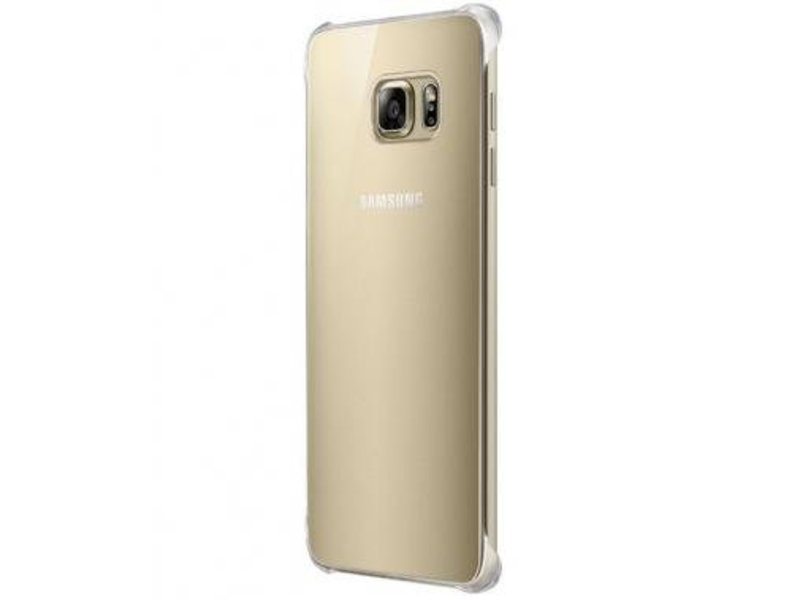 Samsung Samsung Glossy Cover Goud voor Samsung Galaxy S6 Edge+