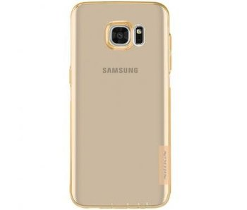 Nillkin Nature TPU Case Bruin voor Samsung Galaxy S7 Edge