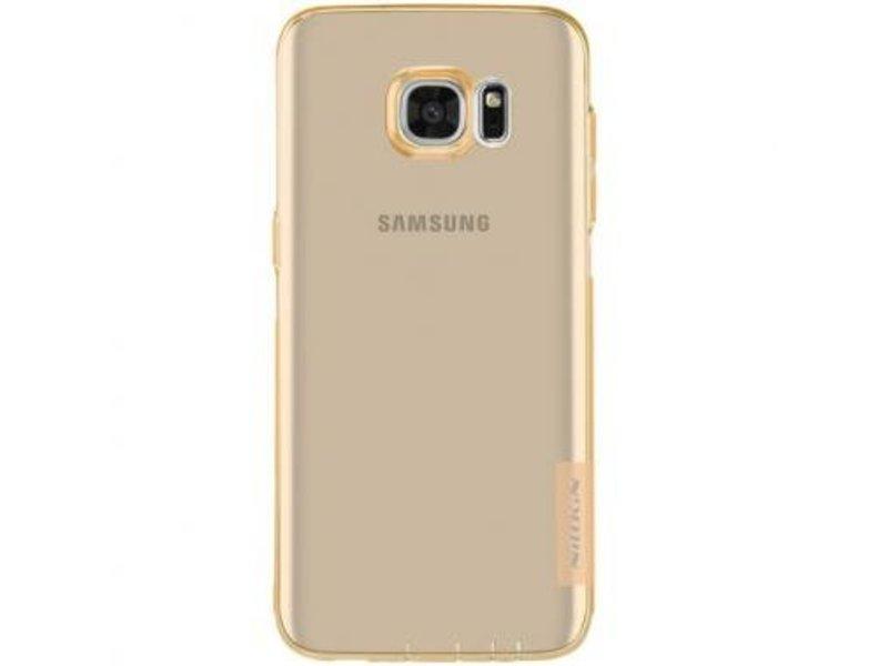 Nillkin Nillkin Nature TPU Case Bruin voor Samsung Galaxy S7 Edge
