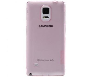 Nillkin Nature TPU Case Roze voor Samsung Galaxy Note 4