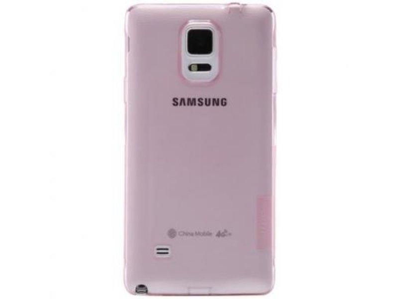 Nillkin Nillkin Nature TPU Case Roze voor Samsung Galaxy Note 4