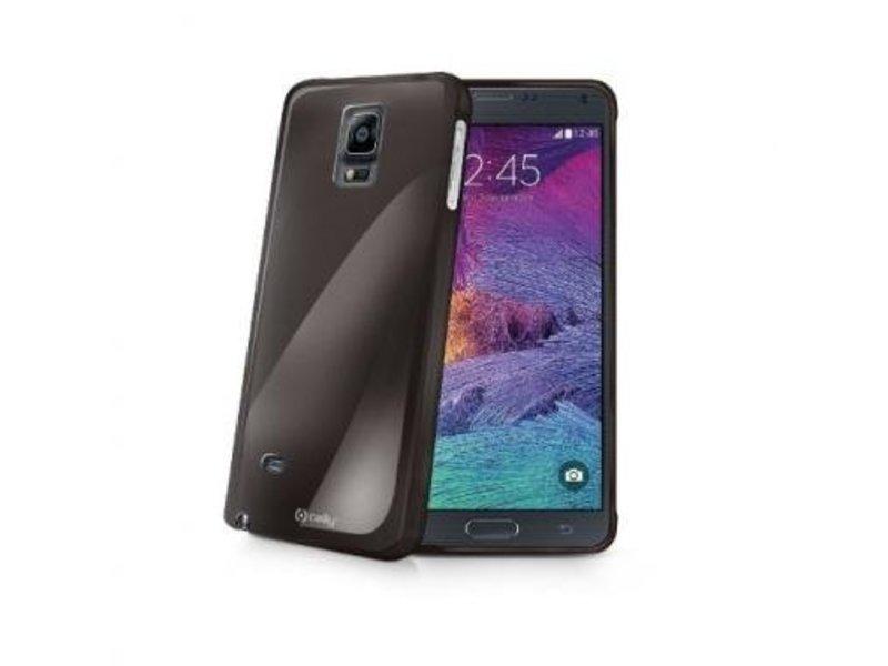 Celly Celly Gelskin Zwart voor Samsung Galaxy Note 4