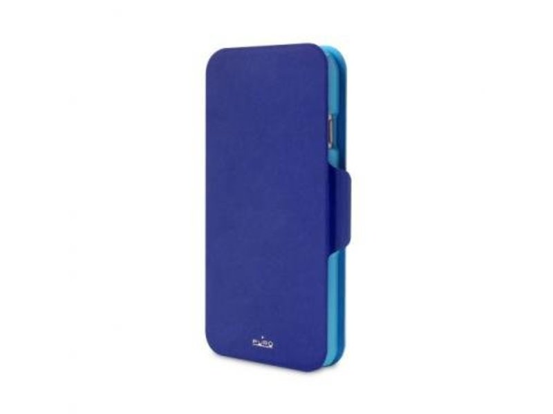 Puro Puro BiColor Wallet Case Blauw voor Apple iPhone 6 Plus/6S Plus