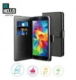 BeHello BeHello Wallet Case Zwart voor Samsung Galaxy S5