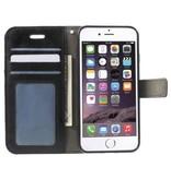 Mobiware Wallet Book Case Zwart voor Apple iPhone 7/8