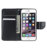 Mobiware Wallet Book Case Zwart voor Apple iPhone 7/8