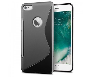 Just in Case Apple iPhone 7/8 S-Style TPU case (Black)
