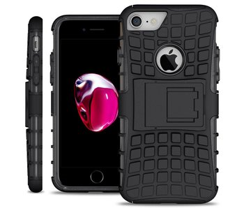 Just in Case Rugged Hybrid Apple iPhone 7/8 Case (Black)