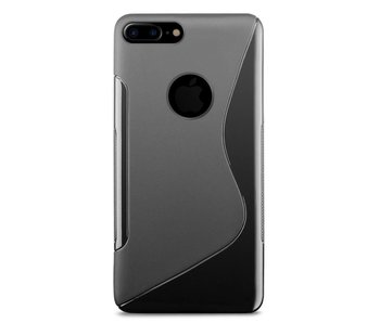 Just in Case Apple iPhone 7/8 Plus S-Style TPU case (Black)