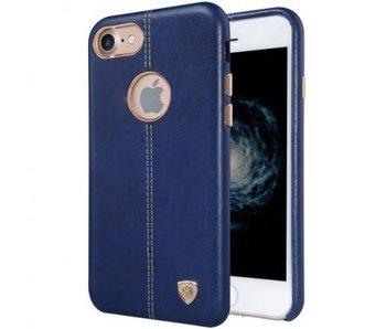 Nillkin Englon Leather Cover Blauw Apple iPhone 7